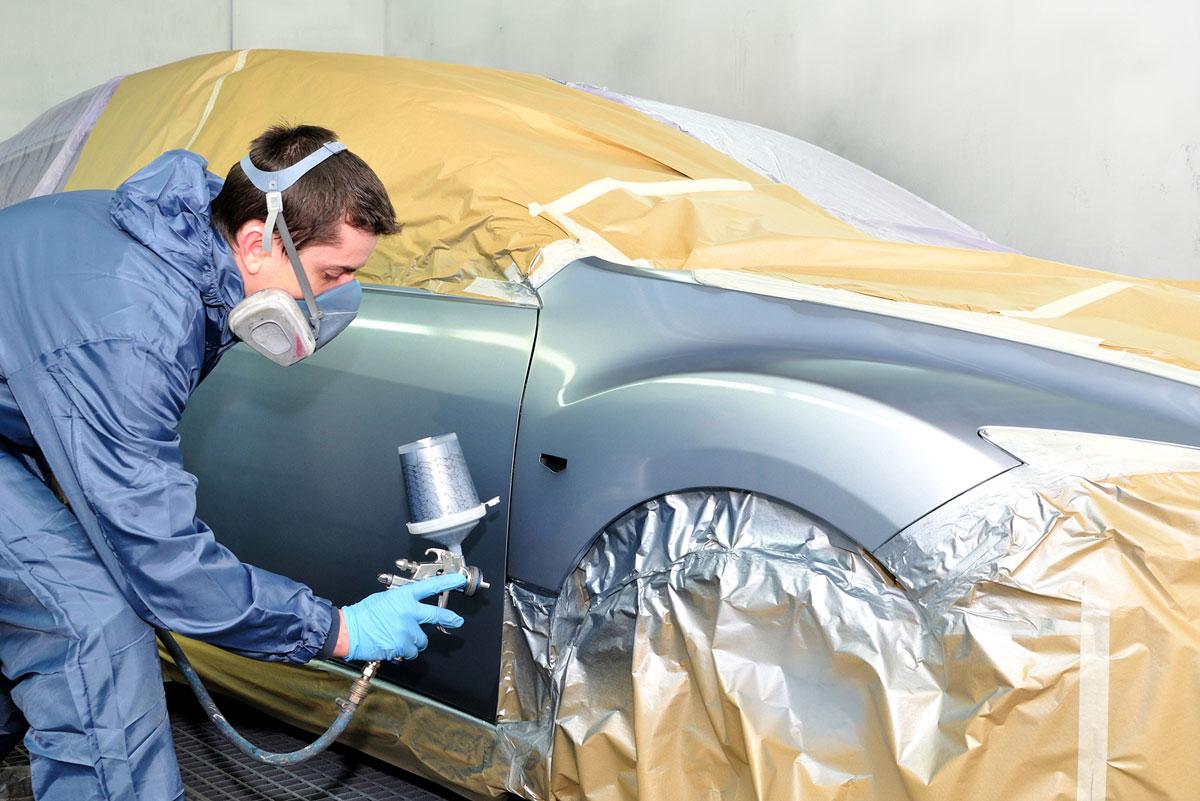 Pintar el coche en Sevilla