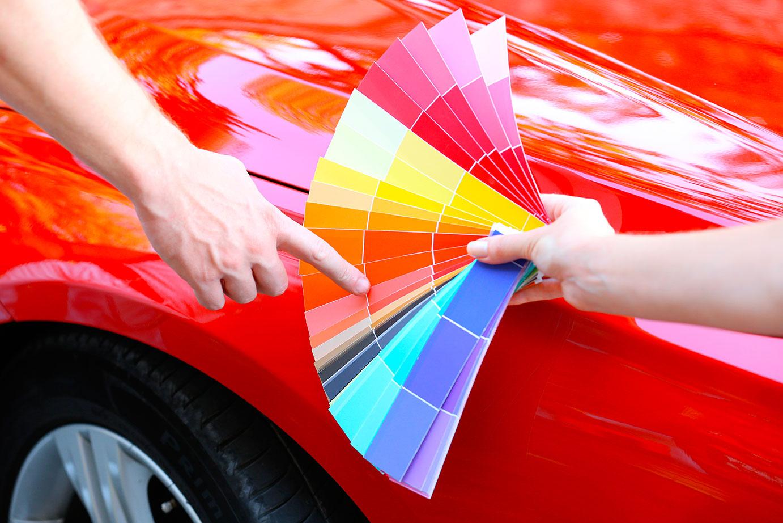 Cambio de color en la carrocería
