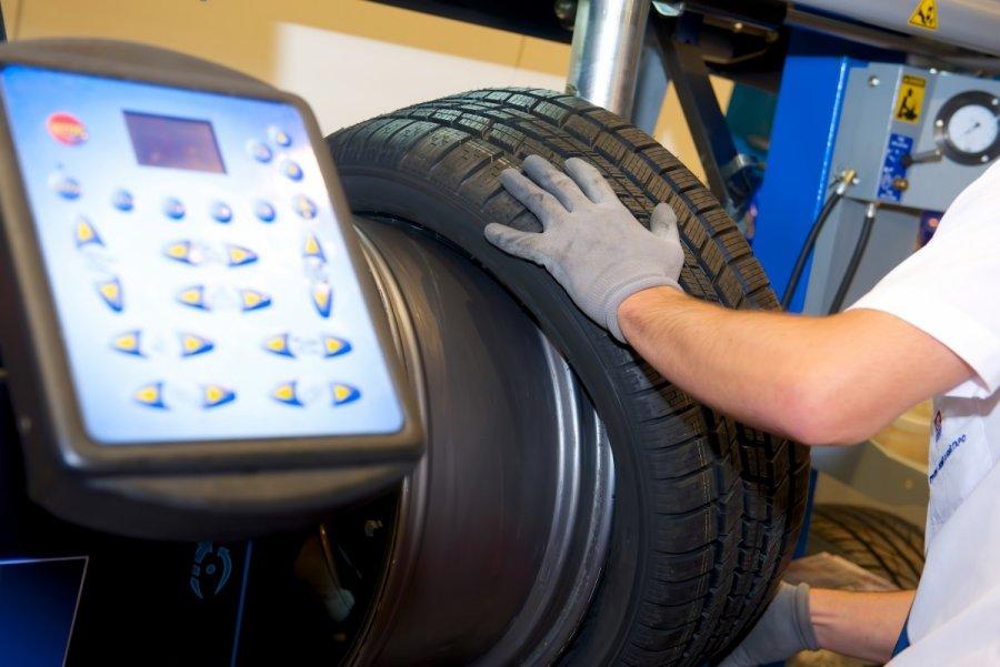 Sustitución de neumáticos en Sevilla